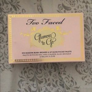 NIB Too Faced Glamour to Go Eyeshadow Palette